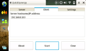 QuickSynergy no Maemo