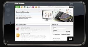 Navegação Web no N900