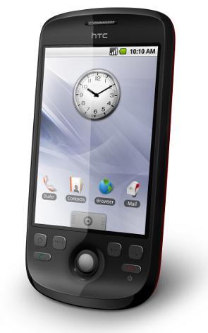 HTC Magic - Primeiro aparelho com Android a aparecer oficialmente no Brasil [EDIT]: Essa foto é de um Magic sem Sense, como os aparelhos vendidos em outros países [/EDIT]