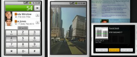 Smart Dialer, Street View e Barcode Scanner - E isso é só uma parte do que o HTC Magic tem a oferecer