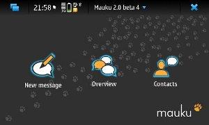 Mauku - Cliente de microblog no Maemo