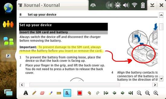 Anotação de PDF - Destacar texto, fazer desenhos e comentários