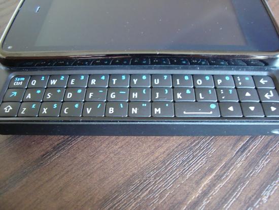 Teclado do N900 - Fileiras superiores podem ser um problema para digitar